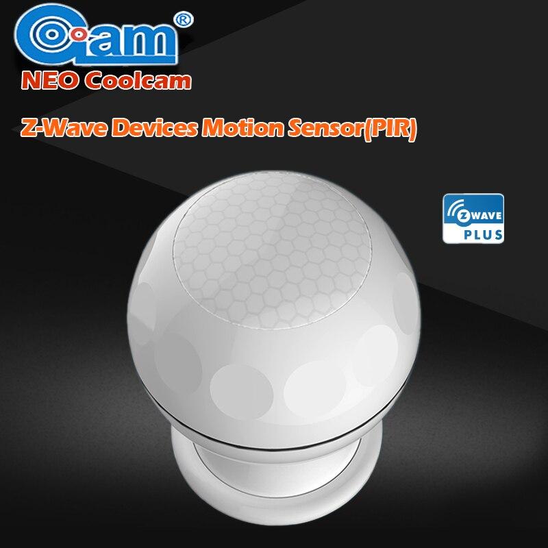 НЕО Coolcam ЕС Версия NAS-PD02Z Новый Умный дом Z-Wave плюс движения PIR Сенсор детектор домашней автоматизации сигнализации Системы движения сигнализ...
