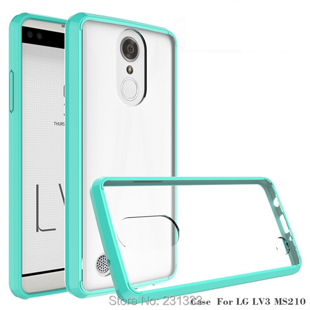 US $200 11 5% OFF|Clear Anti knock TPU Acrylic Soft Case For LG Stylo 3  Aristo Metropcs LV3 V3 MS210 K8 Samsung Galaxy J3 2017 Emerge Cover  100pcs-in