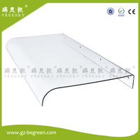 YP4080 2 40x80cm 15 7 X31 5 Invisible Door Canopy Polycarbonate Awning Inflatable Canopy Entrance Rain