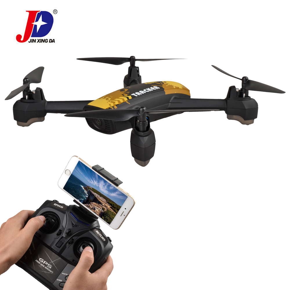 JXD 518 GPS PRO Drone Rc Quadcopter 2.0MP HD Camera FPV Long Distance flying Control Auto Return GPS Position Point Fixed RTF jxd 518 rc quadcopter 720p hd camera wifi fpv gps mining point drone 2 4ghz 6 axis gyro mini drone 360 rotation headless mode