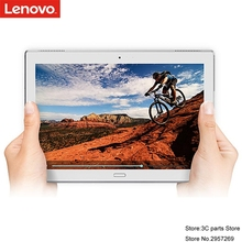 NUEVA Lenovo Tab 4 plus 10 X704N 10 pulgadas Android 7.1 LTE Tablet 4 GB 64G Qualcomm 8953 Huella Digital de Doble cara de cristal diseño