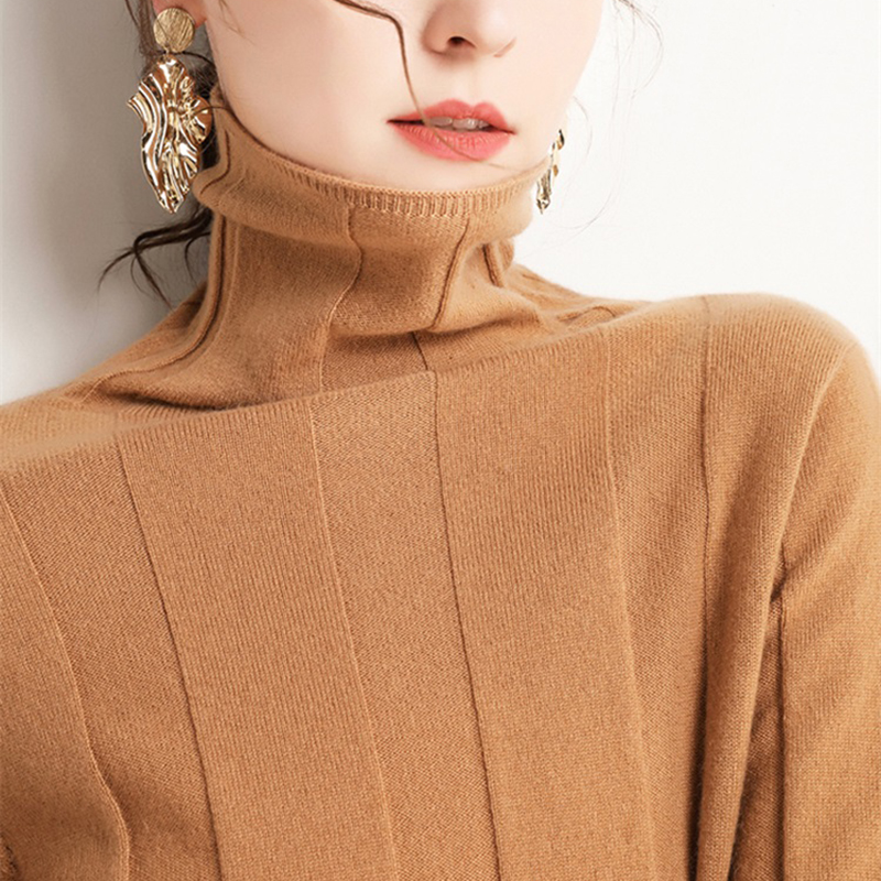 GABERLY Cashmere Soft Turtleneck Sweaters And Pullovers For Women Warm Autumn Winter Fluffy Jumper Female Brand Jumper