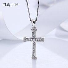 Кулон из стерлингового серебра christian cross с дизайном быстрая