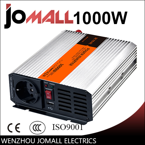 цена на 1000W modified sine wave 12/24V DC to 110/220V AC Portable Car power inverter