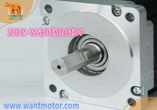 Buen cnc! La Libre! Wantai 4 eje Nema 34 paso a paso Motor 85BYGH450D-008 5.6A 1090oz y conductor DQ860MA 80V 7.8A 256Micro ROHS, CE, ISO