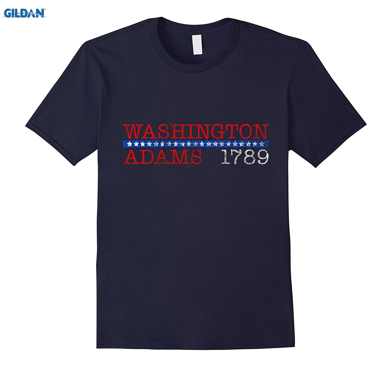 Hot Sale Gildan George Washington And John Adams Funny Capasitor Mkm 100nf 104 Campaign Shirt 1789
