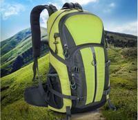 NoEnName Outdoor Camping Wear Resistant 40L Backpack Mountaineering Hunting Travel Backpack Big Capacity Waterproof Sports Bag