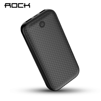 ROCK Power Bank 20000 mAh Externo Portátil Bateria de Carregador Dual USB PowerBank para iphone Samsung Xiaomi