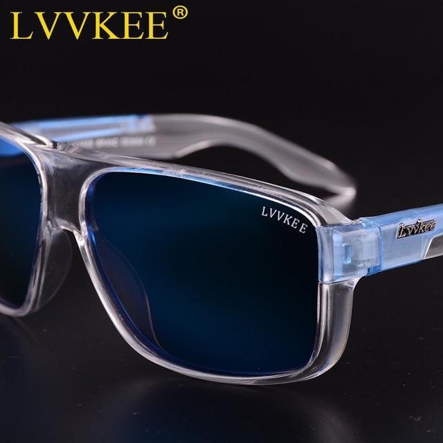 LVVKEE 2018 Brand Male Polarized Sunglasses Outdoor sports Men/Women Transparent Colorful frame Sun Glasses oculos mormaii surf 2