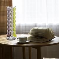 YONTREE 1 Pc Iron Dolce Gusto Coffee Capsule Holder Stand Display Kitchen Organizer Storage Shelf 24