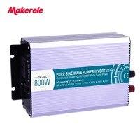 800W pure sine wave solar power inverter DC 12V 24V 48V to AC 110V 220V