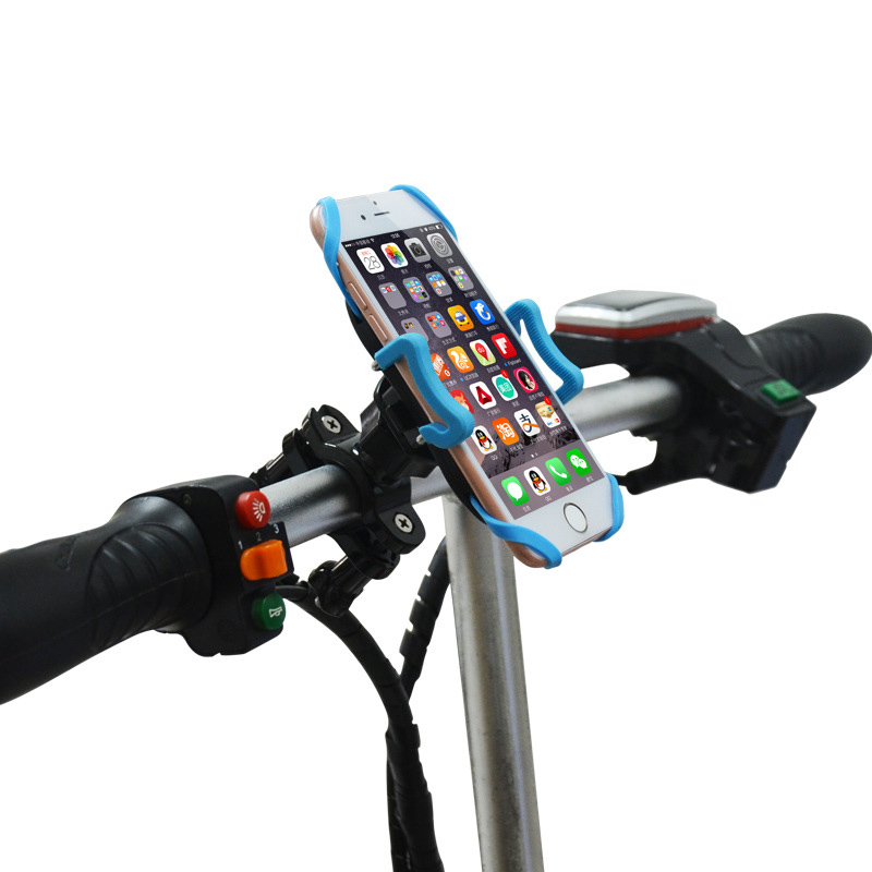 Universal Motorcycle Bike Bicycle Cell Phone GPS Handlebar Mount Holder 3-6 Inch