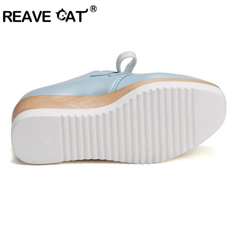 blue Plate Rose forme Appartements Chaussures Femme La Sapatos 43 pink Taille Noir Pl395 33 white Black Chat Mujer Reave Creepers Plus Mode 0qZBBH