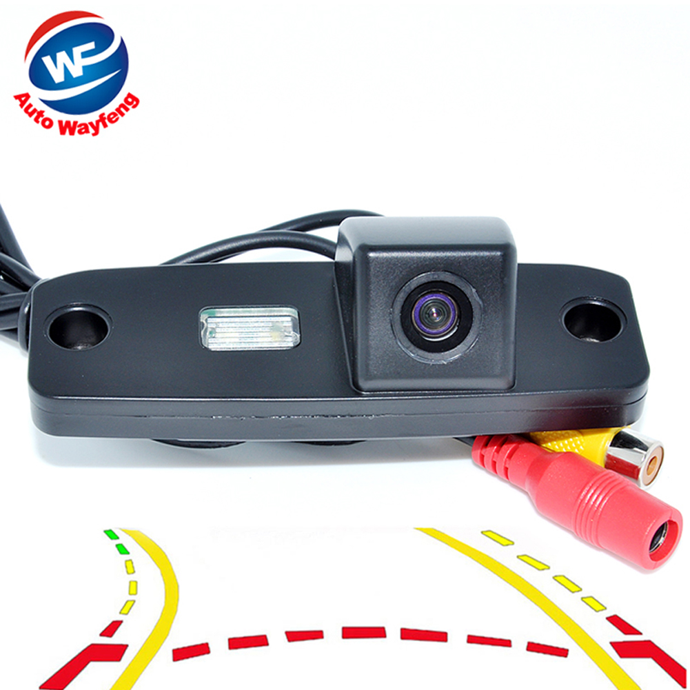 Intelligent Dynamic Trajectory Tracks Parking Line Rear View Back Camera For Hyundai Elantra Terracan Tucson Accent Kia Sportage