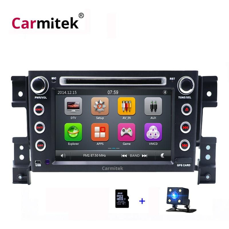 2Din Car DVD Player For Suzuki Grand Vitara 2005 2006 2007 2008 2009 2010 2011 2012