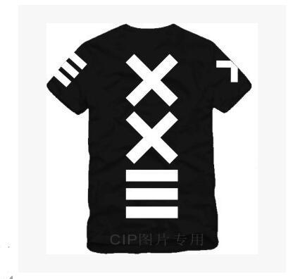 Japanese XXlll street hip hop HBA Tide Printed Mens T Shirt  Fashion 2016 New Short Sleeve O Neck Cotton T-shirt Tee