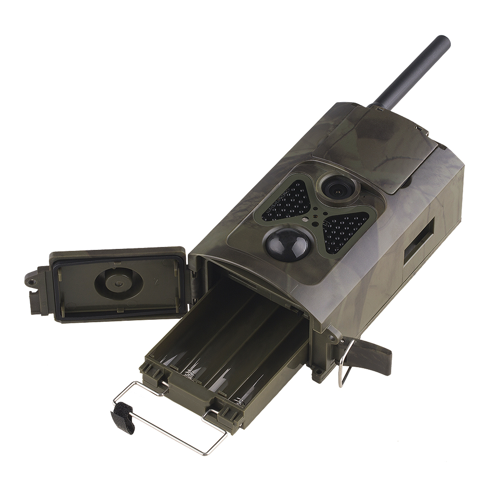 3G Hunting trail camera with METAL Safety box and solar charger simcom 5360 module 3g modem bulk sms sending and receiving simcom 3g module support imei change
