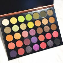 Beauty Glazed  Shimmer Matte Eyeshadow Palette Fashion Smoky Eye Shadow Studio Glitter Makeup Cosmetic
