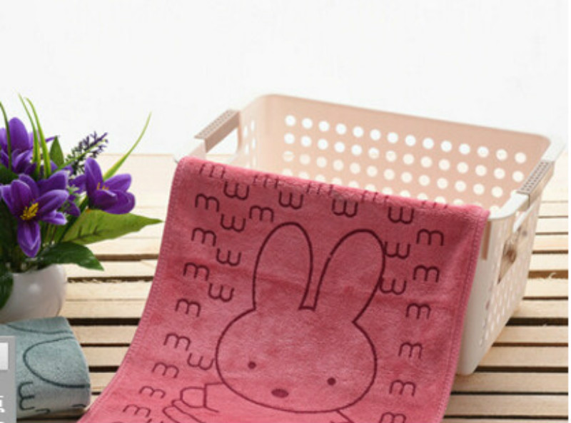 2017 Cute Soft Microfiber Absorbent Drying Bath Beach Towel Washcloth Swimwear Baby Towel