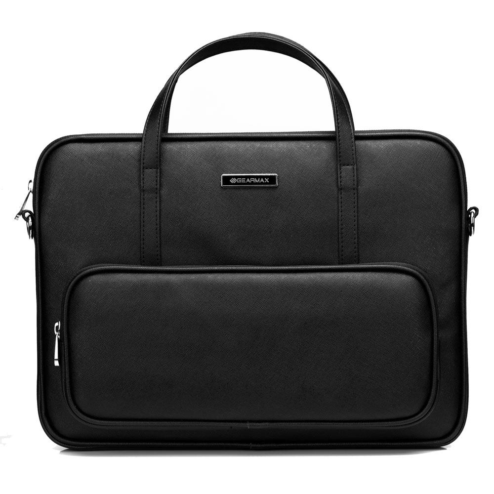 GEARMAX for MacBook Pro 13 Case Waterproof Leather Women Messenger Bag+Free Keyboard Cover for MacBook 13 Laptop Briefcase