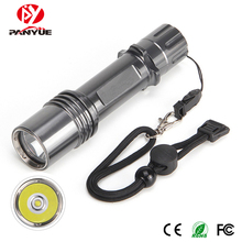 PANYUE High Quality Powerful 1000 lumen XM-L2 Rechargeable Waterproof Aluminum Led Flashlight Torch