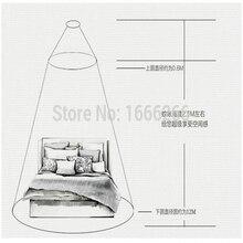EMF Faraday Кровать Навес/радиационная защита/RFID Экранирование москитная сетка для домашнего использования