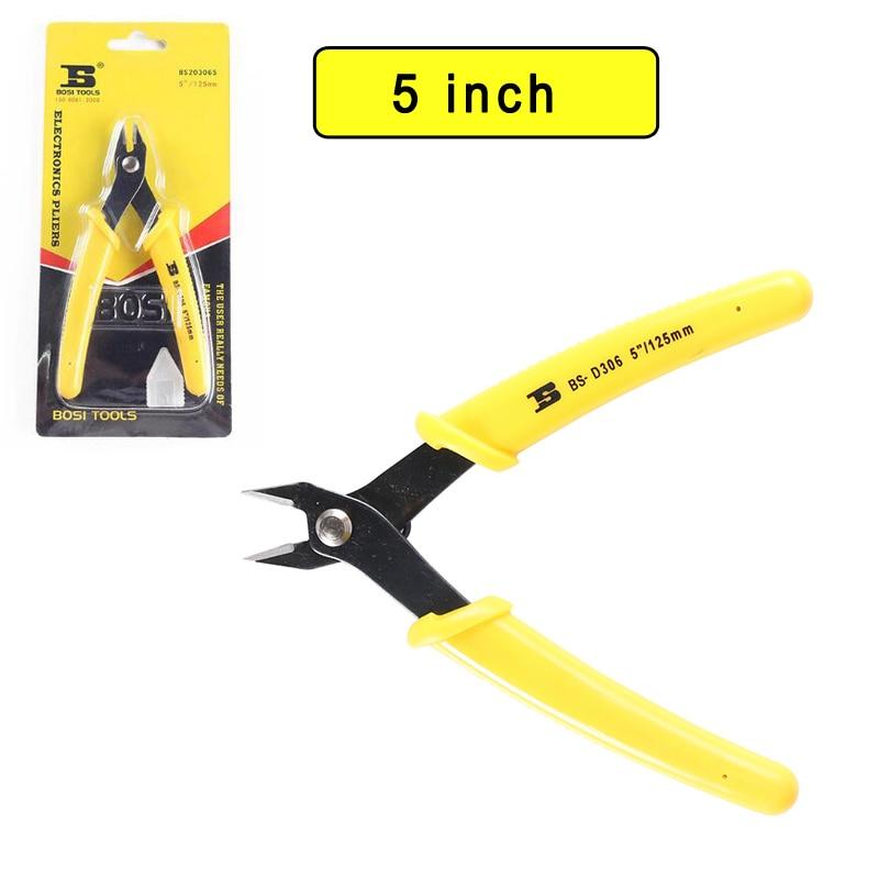 Zangen Werkzeuge Factory Outlet Großhandelspreis 5 schneiden Zange Bosi Handwerkzeuge Bs203065 100% Garantie