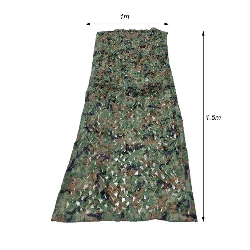 1 5 1M Outdoor Military Camouflage Net Tactical Army Camo Netting Car Covers Tent Hunting Blinds Netting Cover Conceal Drop Net in Hunting Ghillie Suits from Sports Entertainment