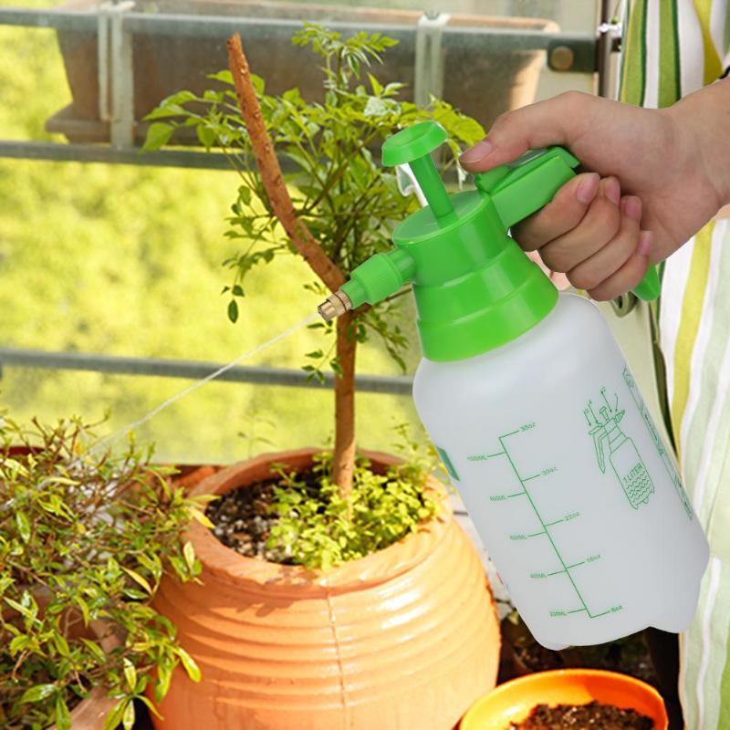 1L 1.5L 2L portátil de mano planta aerosol para flores botella de riego botellas con atomizador hervidor de agua casa regadera para jardín herramienta de riego Adaptador de drenaje de grado alimenticio para tanque de bolsa de agua de 1/2