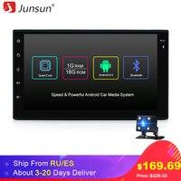 Junsun العالمي 2 الدين الروبوت 6.0 سيارة مشغل dvd gps + wifi + بلوتوث + راديو + رباعية النواة 7 بوصة 1024*600 شاشة الراديو