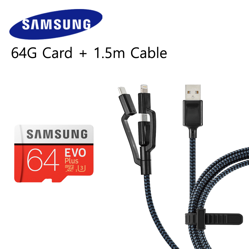 Original SAMSUNG Speicher Karte 64 gb Class10 U3/U1 64 gb 128 gb 32 gb 100 Mb/s flash TF Micro Sd-karte Microsd Karte für Handy
