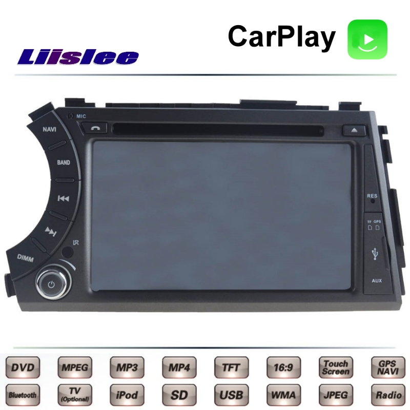 Pour SsangYong Kyron 2005 ~ 2014 Voiture Multimédia TV DVD GPS Radio Carplay Original Style De Navigation Liislee Avancée Navi