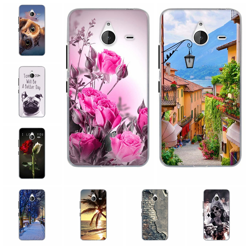 For Capa Nokia Lumia 640 XL Case Cover For Lumia 640XL Case Cover Soft TPU Silicone Back Phone Funda For Microsoft Lumia 640xl image