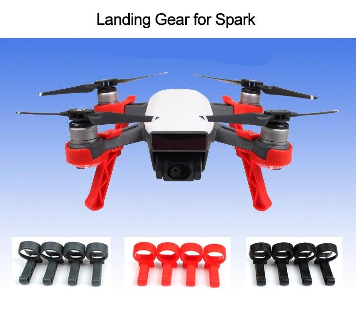 4 piezas estabilizadores para DJI chispa Drone aterrizaje del ...