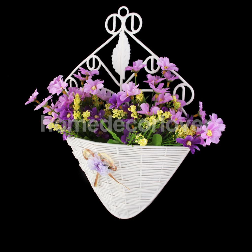 Artificial Flower Baskets Online : Compare prices on wood hanging baskets ping