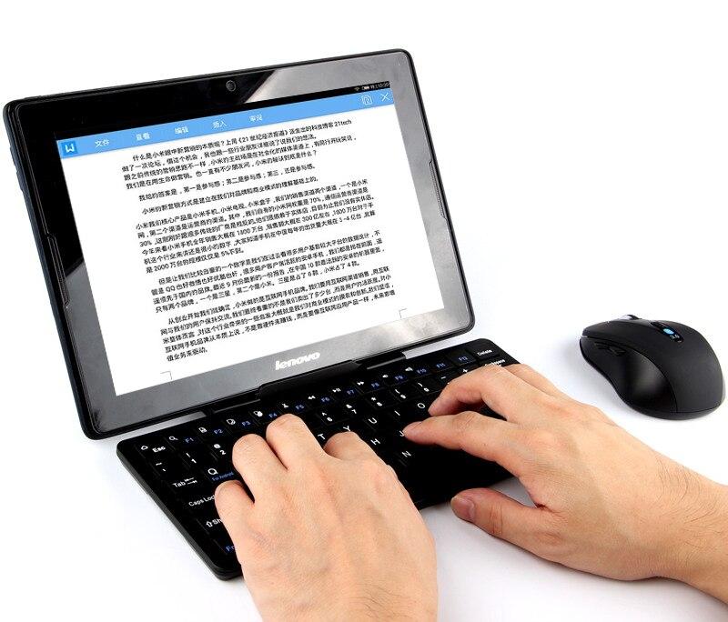 Nuevo teclado a la moda para cube i10 tablet pc de 10,6 pulgadas para cube i10 teclado con ratón para cube i10 - 4