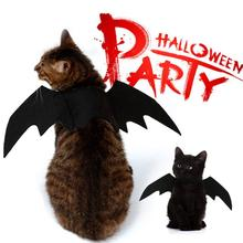 NACOCO Pet Halloween Bat Wings Costume Cool Batman Design Party Clothes Cat Small Dog