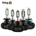 Hlxg 50 W 8000LM 6000 K 12 V 24 V H7 H4 Del Coche LED Faros de CSP Chips de LED H1 Bombillas H8 H9 H11 hb3 hb4 Auto Accesorios de Automóviles
