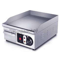 Electric griddle commercial electric grilled squid Teppanyaki equipment cold noodles burning machine 220v 2000w 1pc