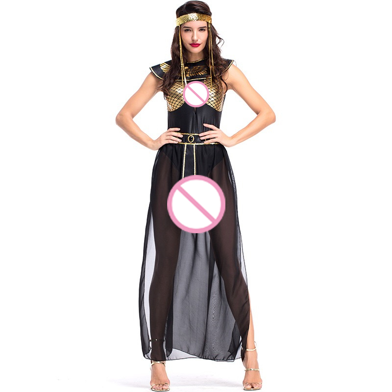 New Women Bar Stage Performance Costumes Egyptian Goddess Isis Ancient Egyptian Mythology Sexy Arabic Dancing Party Dress 131