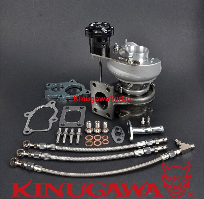 Kinugawa turbocompresseur TD04HL-15T 6 cm T25 huile & refroidi à l'eau