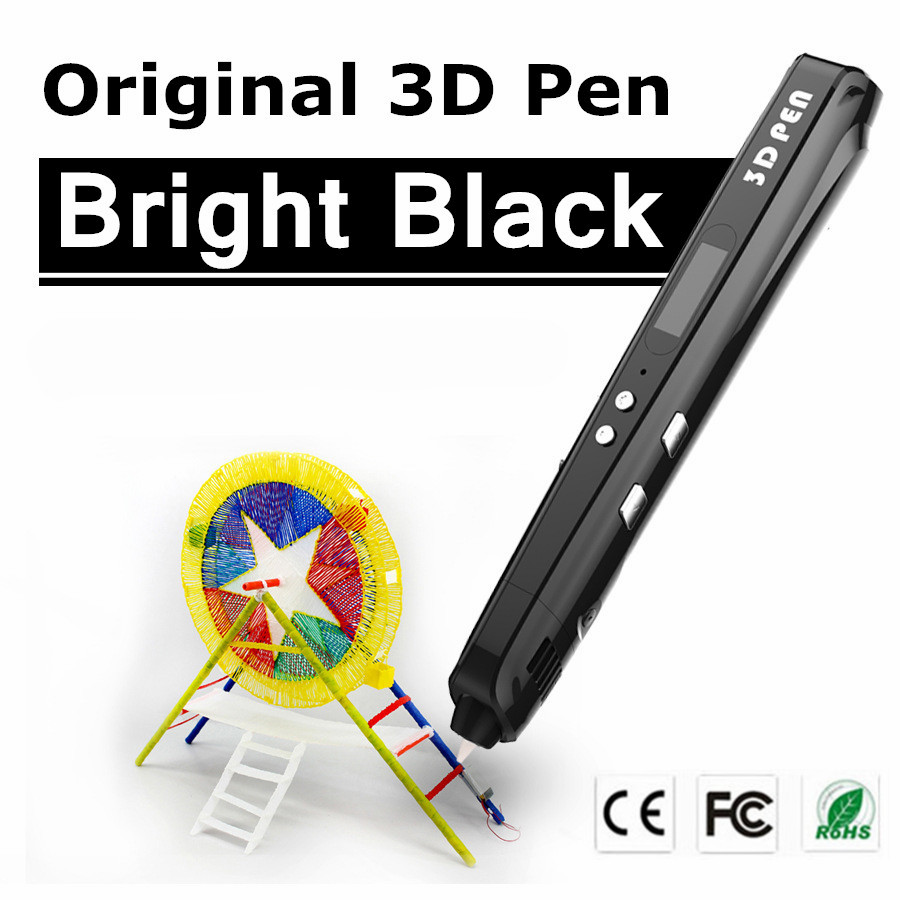Christmas Gift Sixth Generation 3 Color 3 D Drawing Pens With Free PLA Filament 3D Printing