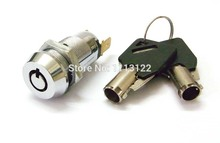 19MM Power Switch lock Round key electronic 7 Pin switch for elevator base station Key removed in 1 position