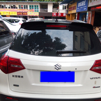 use for suzuki vitara spoiler 2016 2017 model spoiler High Quality ABS Material Car Rear Wing paint color for vitara