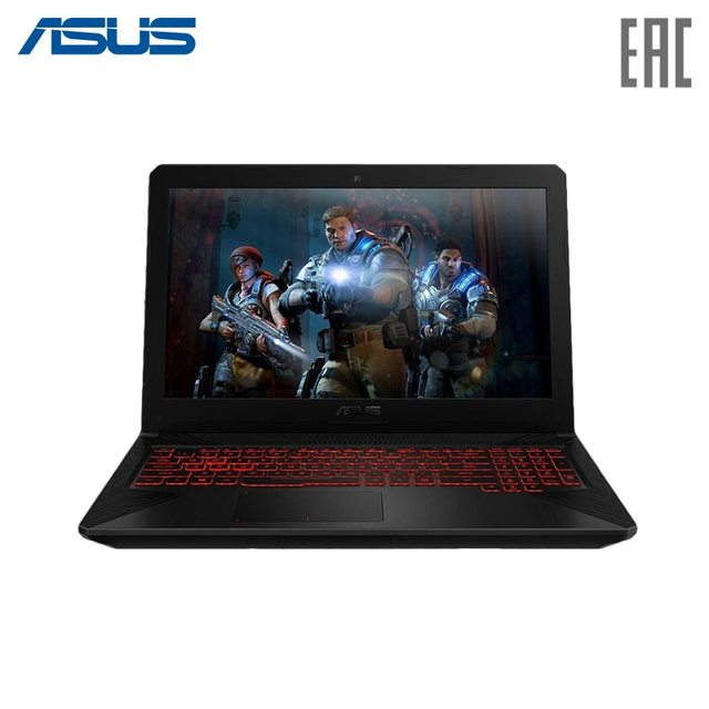 """Ноутбук игровой ASUS TUF FX564GD (504 серия) 15.6"""" FHD/ i5-8300 H/8 ГБ/1 ТБ/NoDVD/GeForce GTX 1050 2 ГБ/Grey (90NR00J3-M21180)"""