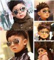 2017 Brand Summer Style girls boys sunglasses children sun glasses Child coating Reflective aviator sunglass Mirror Sunglasses
