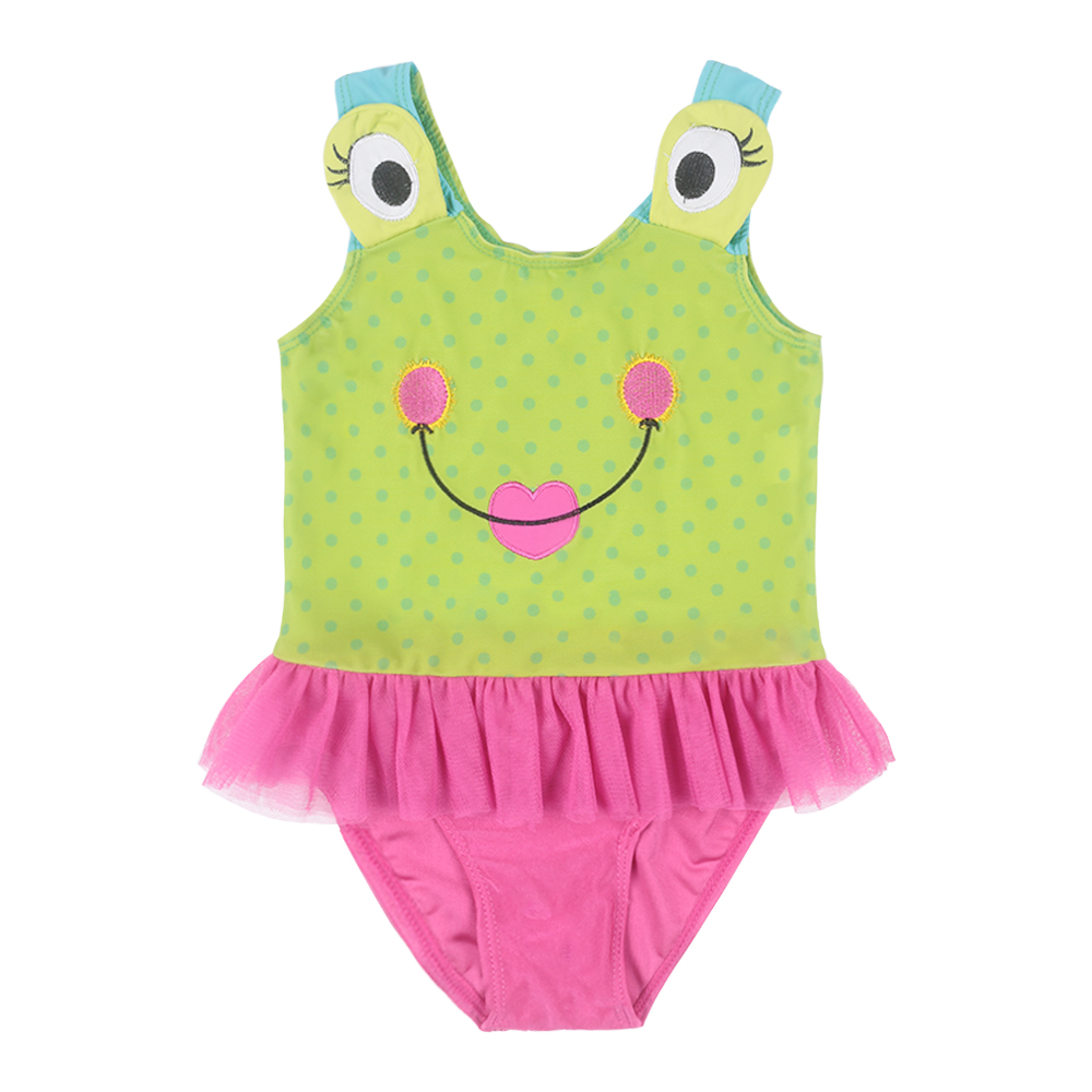 Fashional Cute The Frog Prince Age 3-10 Baby Girls Cotton Knit - Carnavalskostuums - Foto 1