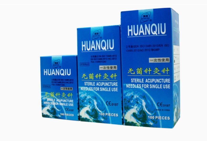 1000 pcs huanqiu ปราศจากเชื้อทิ้งการฝังเข็มเข็มหลอดนวดเข็ม 10 กล่อง 0.25/0.3/0.35 มม.-ใน นวดและการผ่อนคลาย จาก ความงามและสุขภาพ บน   1
