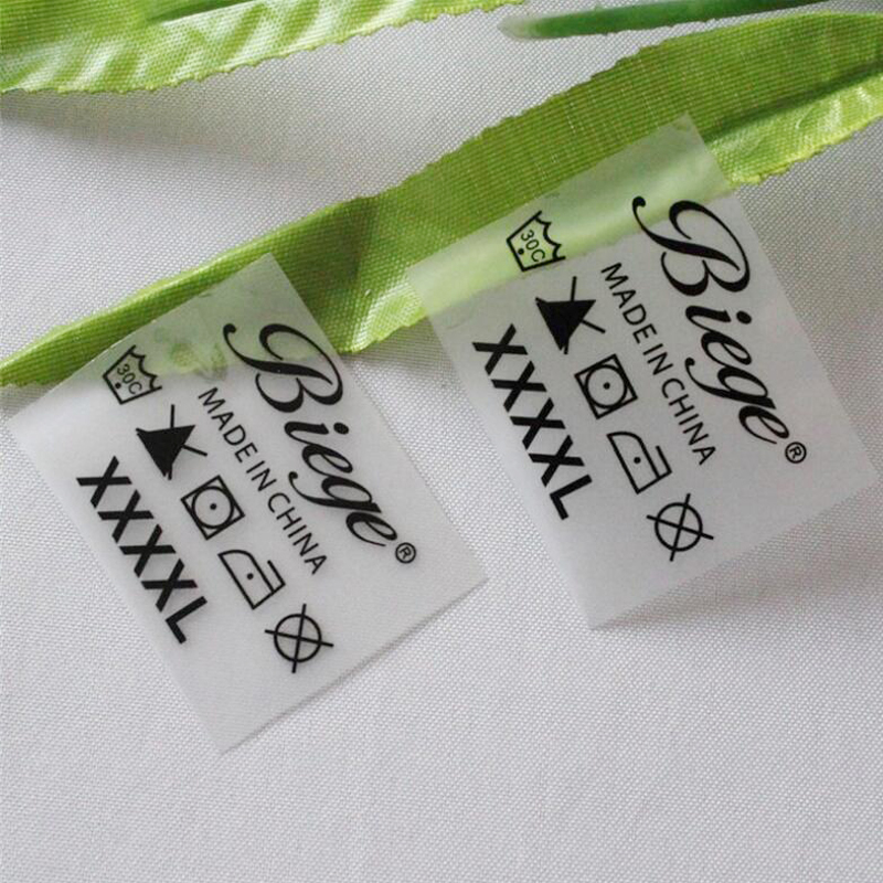 Us 122 36 Custom Heat Transfer Labels In Garment Labels Printing Ink Personal Tags Hot Iron On Clothing T Shirt 3d Name Label Custom In Garment