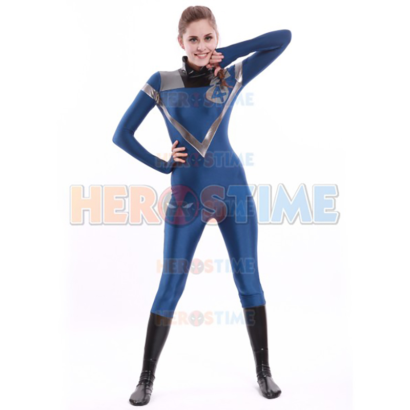 High Quality Adult Women Fantastic Four Human Torch Cosplay Costumes Female Spandex Lycra Zentai Costume Custom Made Bodysuit